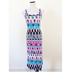 Emilio Pucci Dresses - Emilio Pucci Printed Tank Midi Dress